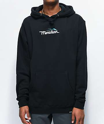 Lakai x Meridian Logo Black Hoodie