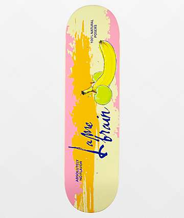 "Lamebrain Tasty 8.25"" Skateboard Deck"