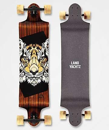 "Landyachtz Switch Tiger 40"" Drop Down longboard completo"