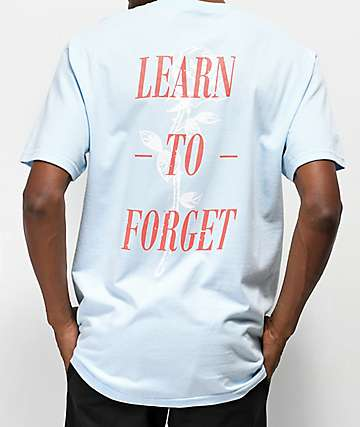 Learn To Forget Nu-Rose Light Blue T-Shirt