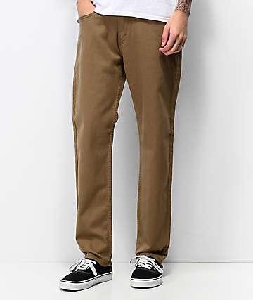 Levi's 502 Tencel Cougar Khaki Jeans