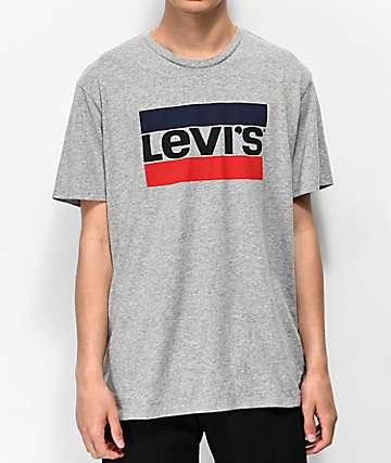 Levi's Sportswear Logo Grey T-Shirt