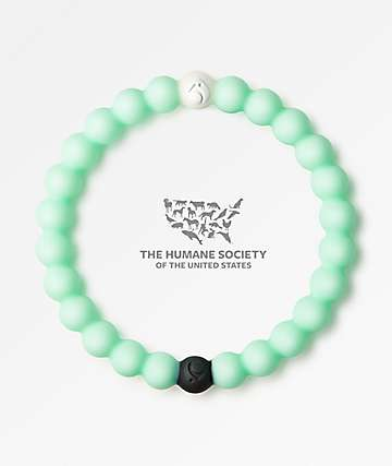 Lokai Animal Rescue Mint Bracelet