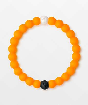 Lokai Dead Sea Neon Orange Bracelet
