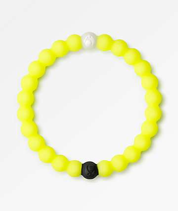 Lokai Dead Sea Neon Yellow Bracelet