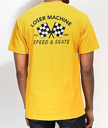 Loser Machine Daytona Gold T-Shirt
