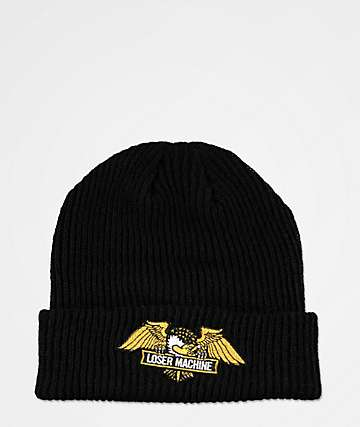 Loser Machine Frank Black Beanie
