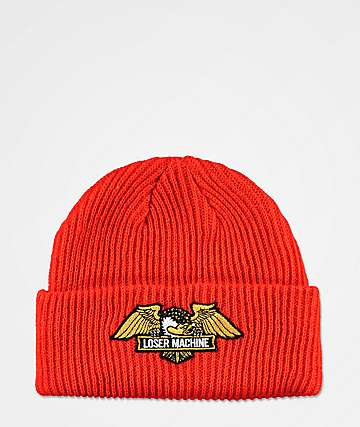Loser Machine Frank Orange Beanie