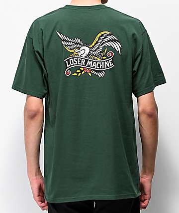 Loser Machine Glory Bound Dark Green T-Shirt