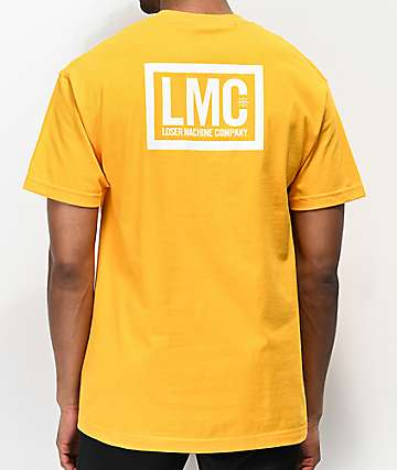 Loser Machine Hardline Gold T-Shirt