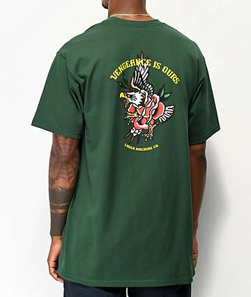 Loser Machine Vengeance Forest Green T-Shirt