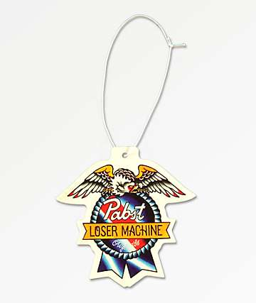 Loser Machine x PBR Air Freshener