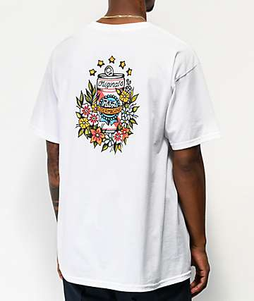 Loser Machine x PBR Tropical White T-Shirt