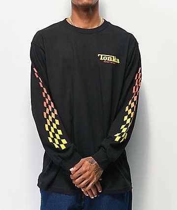 Loser Machine x Tonka Fast Track Black Long Sleeve T-Shirt