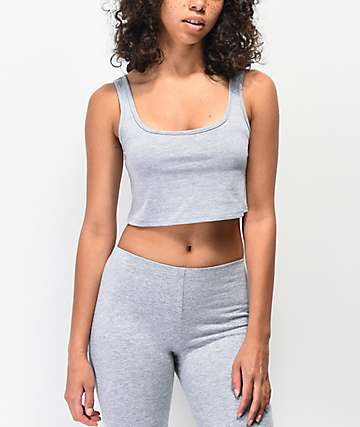 Lunachix Heather Grey Bralette