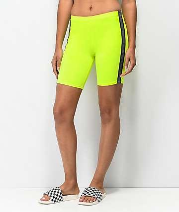 Lunachix shorts amarillo neón reflectantes