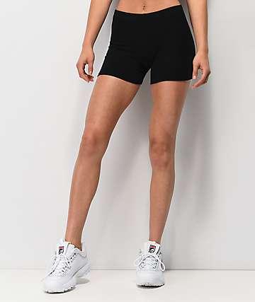Lunachix shorts cortos negros