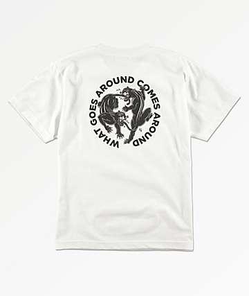 Lurking Class By Sketchy Tank Boys Karma 2 White T-Shirt