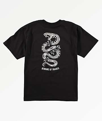 Lurking Class By Sketchy Tank Boys Snakes Black T-Shirt