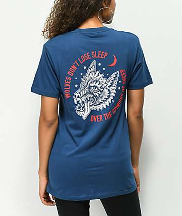 Lurking Class By Sketchy Tank Lurking Class Opinions Blue T-Shirt