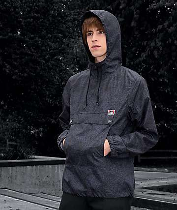 Lurking Class By Sketchy Tank Spiderweb chaqueta anorak cortavientos