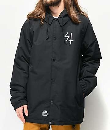 Lurking Class by Sketchy Tank Black Tech Fleece Jacket
