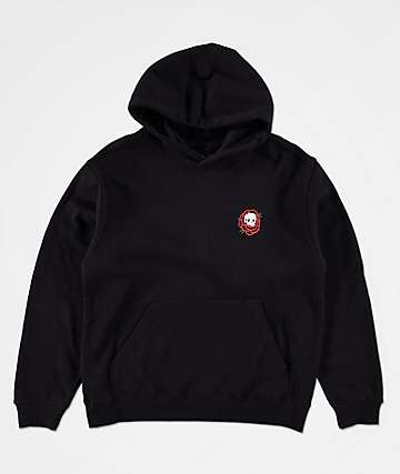 Lurking Class by Sketchy Tank Boys Rose Black Hoodie