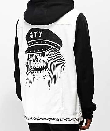 Lurking Class by Sketchy Tank GFY 2Fer chaqueta negra y blanca