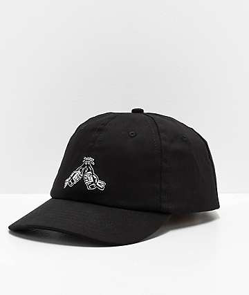 Lurking Class by Sketchy Tank Good Times Black Strapback Hat