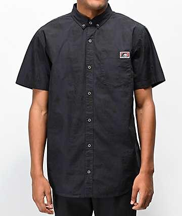 Lurking Class by Sketchy Tank Heads camisa negra de manga corta
