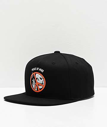Lurking Class by Sketchy Tank Peace Of Mind Black Snapback Hat