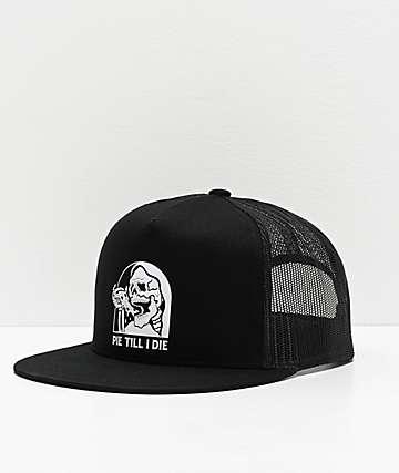 Lurking Class by Sketchy Tank Pie Til I Die Black Trucker Hat
