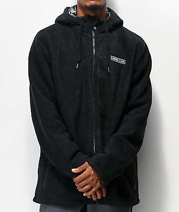 Lurking Class by Sketchy Tank Reaper Black Tech Fleece Jacket