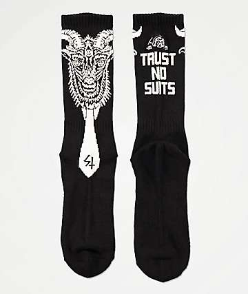 Lurking Class by Sketchy Tank Trust No Suits Crew Socks