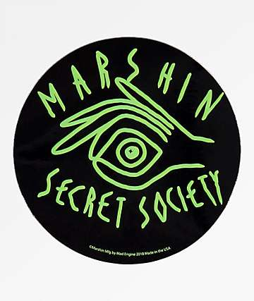 Marshin Secret Society Sticker