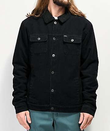 Matix Crew Sherpa & Corduroy Black Jacket