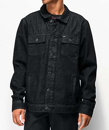 Matix Crew Trucker Black Denim Jacket
