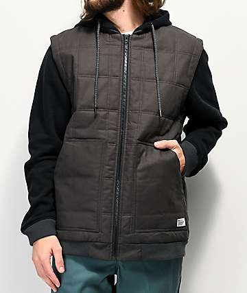 Matix Mendo Asher Charcoal & Black 2Fer Jacket