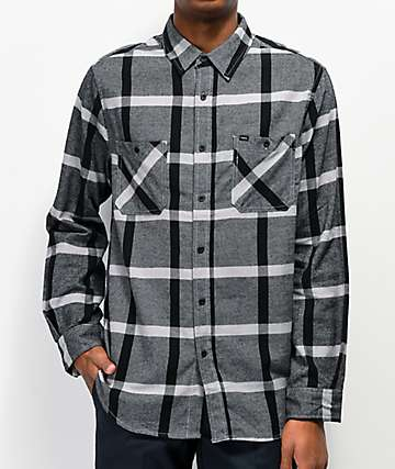 Matix Porto Black & Grey Flannel Shirt