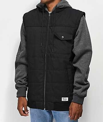 Matix Summit Asher Black & Charcoal 2Fer Jacket