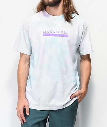 Maxallure Core camiseta tie dye blanca y menta