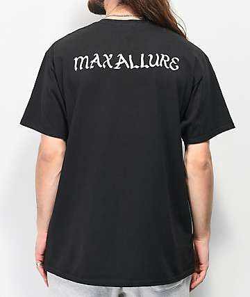 Maxallure Rosy Royalty camiseta negra