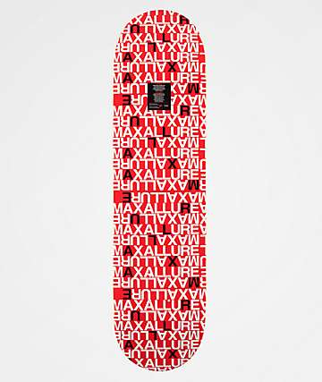 "Maxallure Where's Max 8.0"" Skateboard Deck"