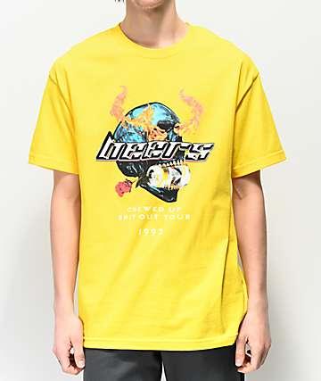 Meet Here For Beers Tour camiseta dorada