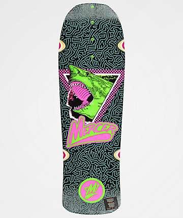 """Mercer Megalodon Slash 9.75"""" Cruiser Skateboard Deck"""