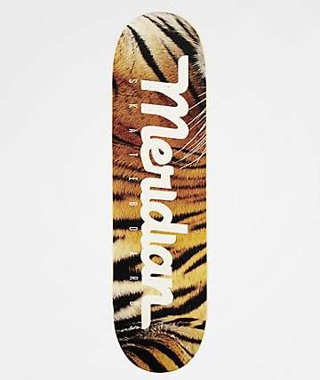 "Meridian Logo Script Tiger 8.38"" Skateboard Deck"