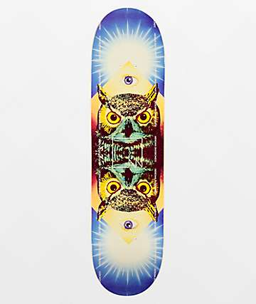 "Meridian Owl Eye 8.0"" Skateboard Deck"