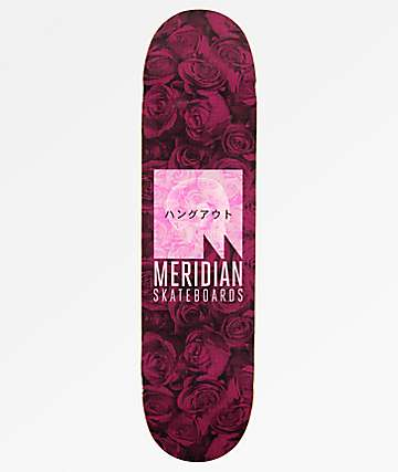 "Meridian We Hang Out 8.0"" Skateboard Deck"