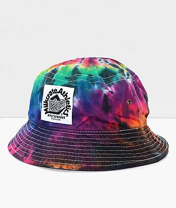 Milkcrate gorra bucket en teñido anudado