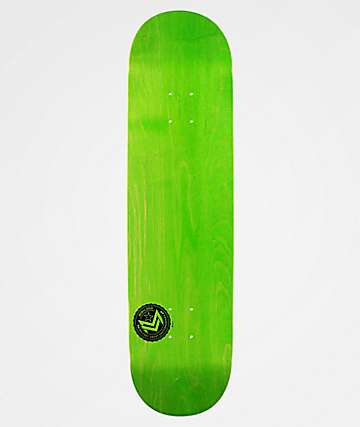 "Mini Logo Chevron Stamp Green 8.25"" Skateboard Deck"
